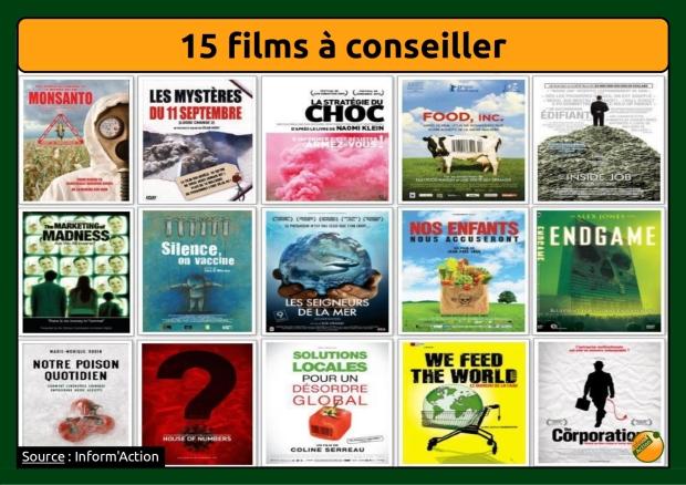 15 films à voir