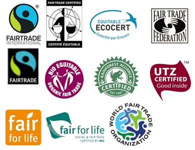 logos commerce équitable