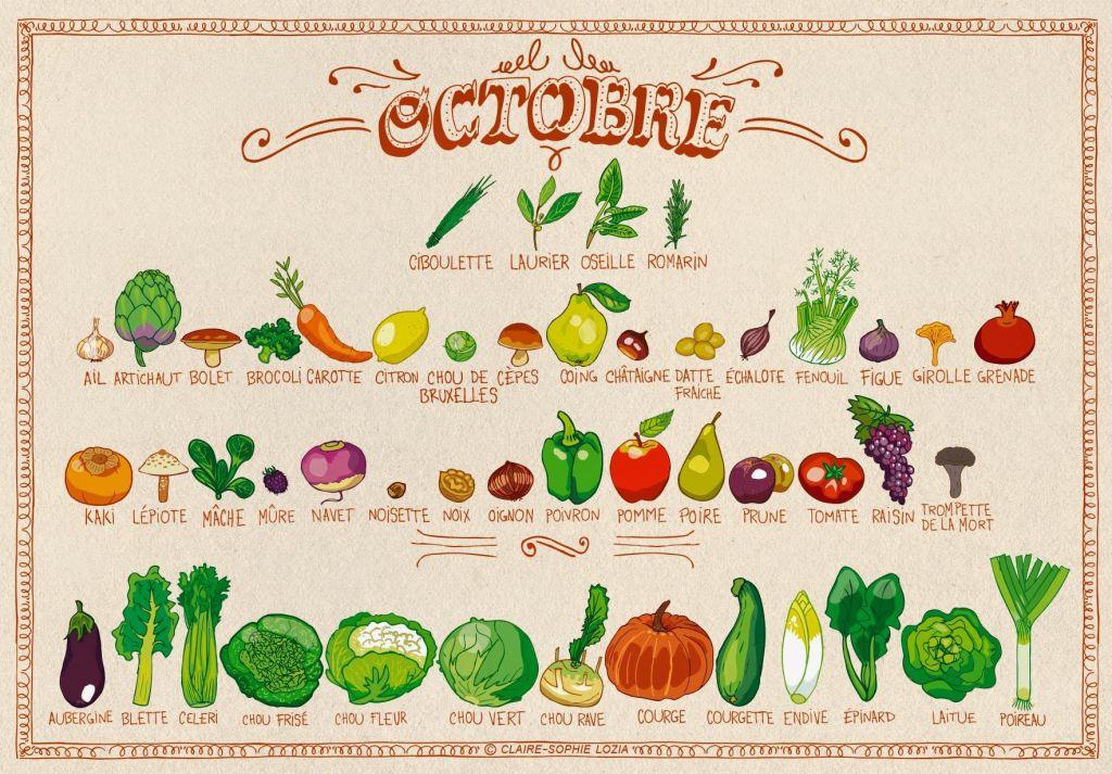 Fruits & Légumes Octobre